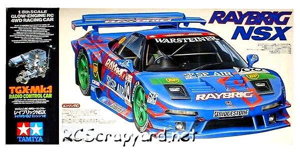 Tamiya Raybrig NSX - 44018 - 1:8 Nitro On Road