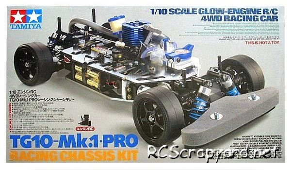 Tamiya TG10 Mk1 Pro Chassis - 44020 - 1:10 Nitro On Road