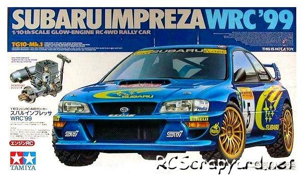Tamiya Subaru Impreza WRC'99 - 44024 - 1:10 Nitro On Road