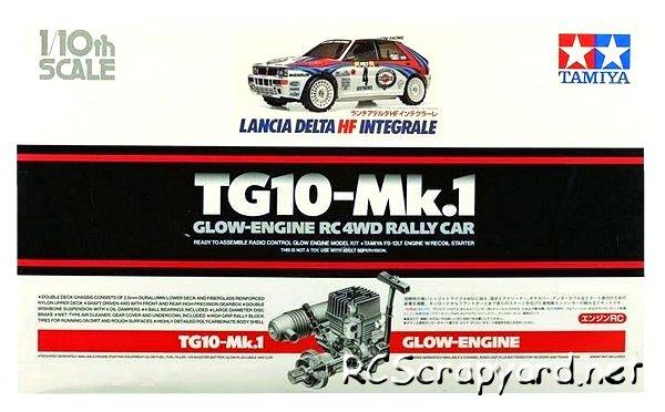 Tamiya Lancia Delta HF Integrale - 44029 - 1:10 Nitro On Road