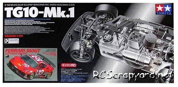 Tamiya Ferrari 360GT Daytona Ver - 44035 - 1:10 Nitro On Road