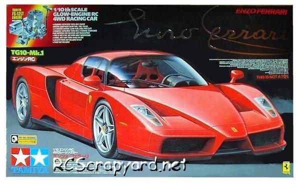 Tamiya Enzo Ferrari - 44038 - 1:10 Nitro On Road