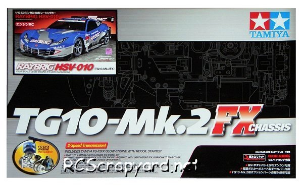 Tamiya Raybrig HSV 010 - 44051 - 1:10 Nitro On Road