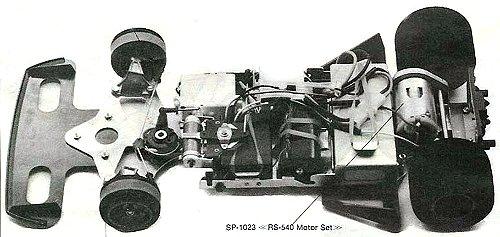 Tamiya Ligier JS9 Matra #58010 Chassis