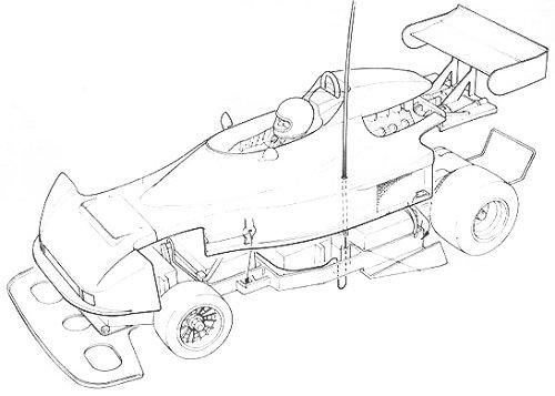 Tamiya Martini Mk22 Renault #58014 Body Shell