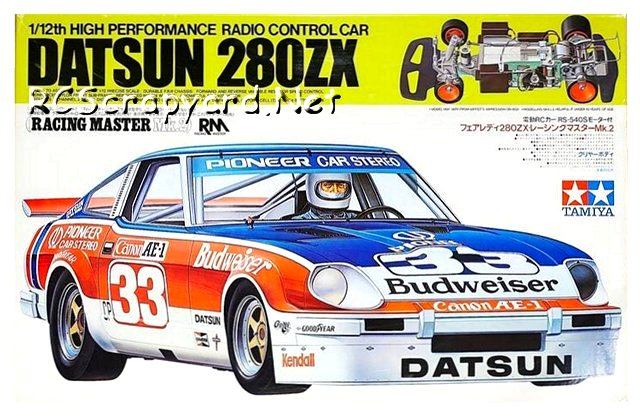 Tamiya Datsun 280ZX (RM Mk-2) - #58022 - 1:12 Electric Model