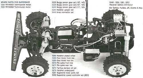 Tamiya Super Shot #58054 Chassis