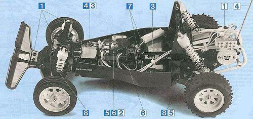 Tamiya Falcon #58056 Chassis