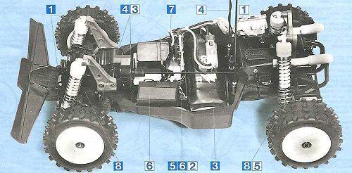 Tamiya Bigwig #58057 Chassis
