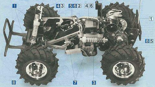 Tamiya Monster Beetle #58060 Chassis