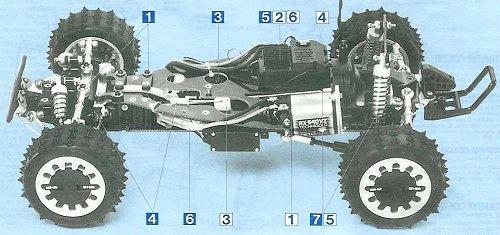 Tamiya Avante #58072 Chassis