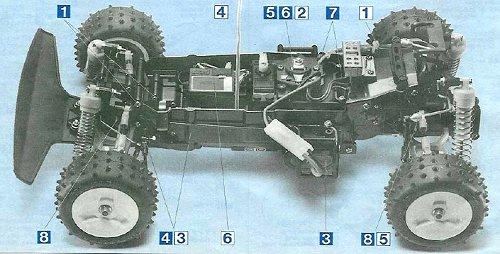 Tamiya Terra Scorcher #58075 Chassis