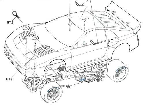 Tamiya Nissan 300ZX IMSA-GTO #58091 Body Shell