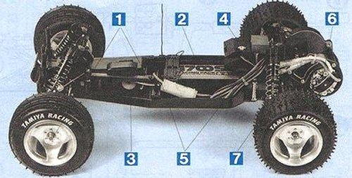 Tamiya Dyna Blaster #58123 Chassis