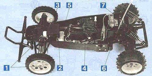 Tamiya Super Hornet #58124 Chassis