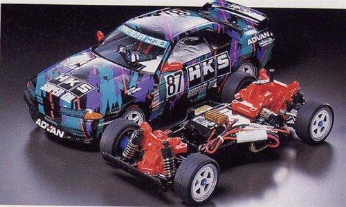 Tamiya HKS Nissan Skyline GT-R Gr.A #58140 TA02 Body Shell