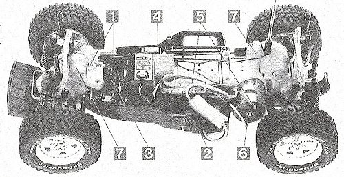 Tamiya Chevy S-10 #58146 TA01/TA02 Chassis