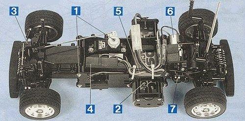 Tamiya Volkswagen Beetle #58173 M-02L Chassis