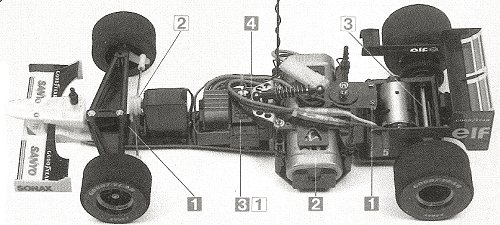 Tamiya Williams Renault FW18 #58179 F103RS Chassis
