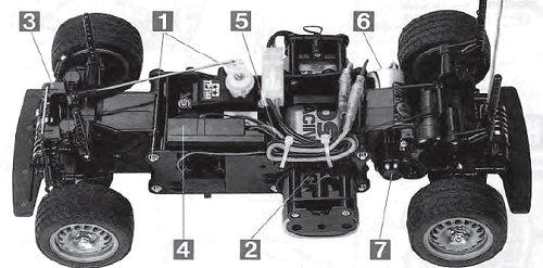 Tamiya Alfa Romeo Giulia Sprint GTA #58187 M-02M Chassis