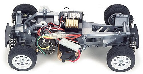 Tamiya Rover Mini Cooper Racing #58211 M-03 Chassis
