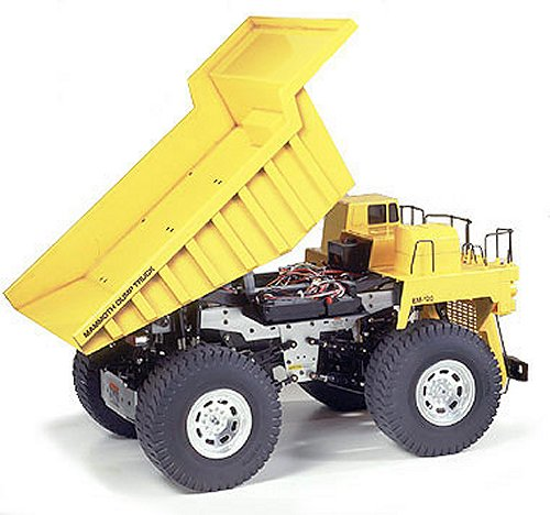 Tamiya Mammoth Dump Truck #58268 Body Shell