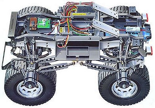 Tamiya Mammoth Dump Truck #58268 Chassis