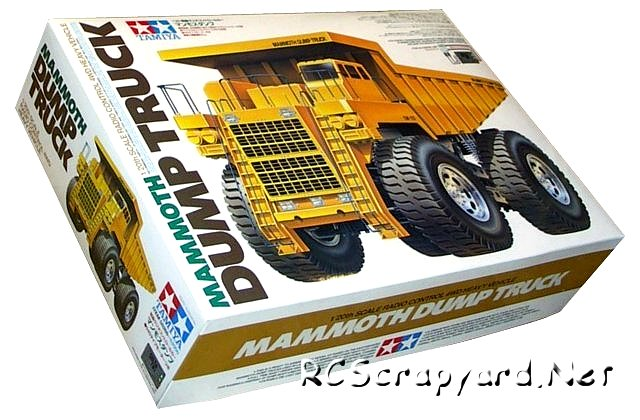 Tamiya Mammoth Dump Truck - #58268 - 1:20 Electric Model