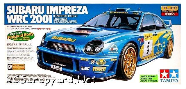 Tamiya Subaru Impreza WRC 2001 (Painted) - #58277 TL-01