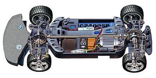 Tamiya Enzo Ferrari #58298 TB01 Chassis