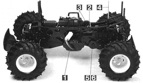 Tamiya Blackfoot Xtreme #58312 Chassis