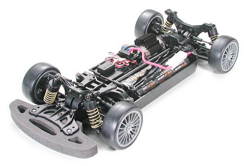 Tamiya Raybrig NSX 2003 #58315 TB02 Chassis