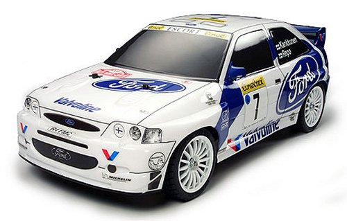 Tamiya Ford Escort WRC #58335 TT-01 Body Shell
