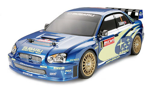 Tamiya Subaru Impreza WRC 2004 Rally Japan #58338 TB-02 Body Shell