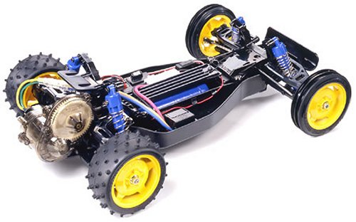 Tamiya Super Fighter G #58340 DT-02 Chassis