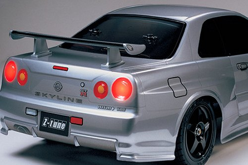 Tamiya Nismo R34 GT-R Z-Tune #58364 TT-01 Body Shell