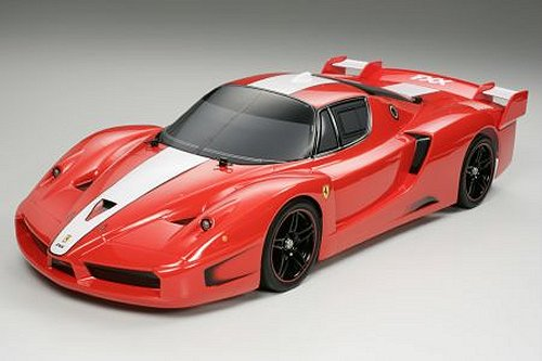 Tamiya Ferrari FXX #58377 TT-01 Body Shell