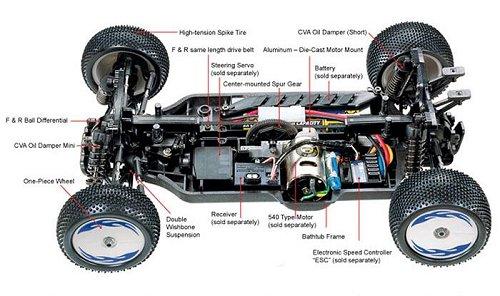 Tamiya Baldre #58404 DB-01 Chassis