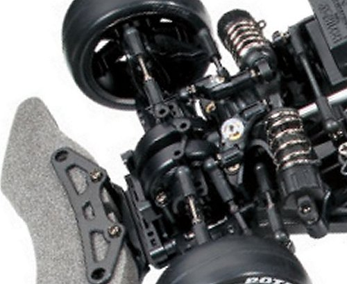 Tamiya Xanavi Nismo GT-R (R35) #58412 TB-03 Front