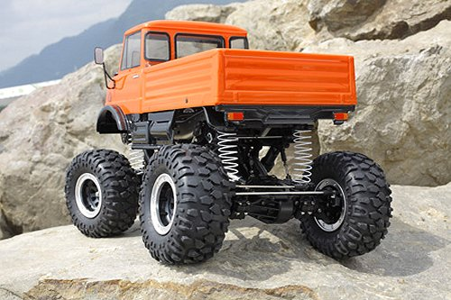 Tamiya Mercedes-Benz Unimog Rock Crawler #58414 CR-01 Body Shell