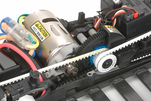 Tamiya Cusco Dunlop Subaru Impreza #58435 TA05 Ver II Belt Drive