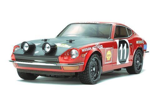 Tamiya Datsun 240Z Rally #58462 TT-01E Body Shell