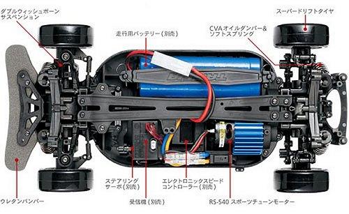 Tamiya TT-01ED Chassis