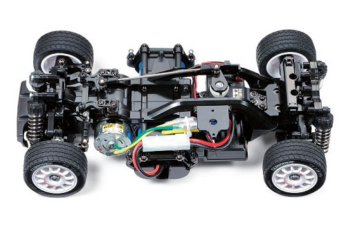Tamiya Rover Mini Cooper 94 Monte-Carlo #58483 M-05 Chassis