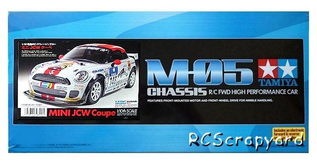 Tamiya Mini JCW Coupe - #58520 M05