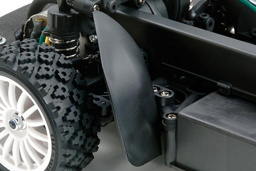 Tamiya #58528 XV-01 Chassis Front