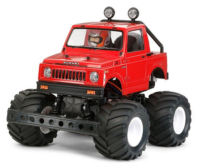 Tamiya Suzuki Jimny SJ30 Wheelie - #58531 - 1:10 Electric Model Monster Truck