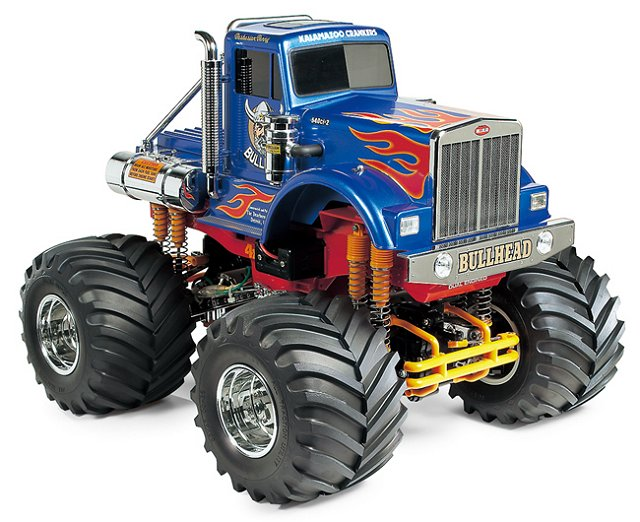 Tamiya Bullhead - #58535 - 1:10 Electric Monster Truck