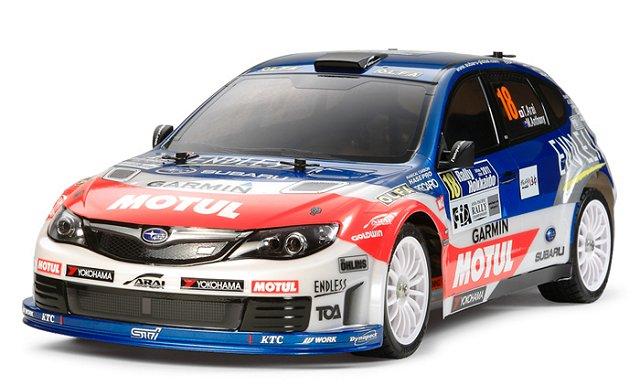 Tamiya Subaru Impreza WRX STI Team Arai - #58538 - 1:10 Electric Model Rally - WRC Car