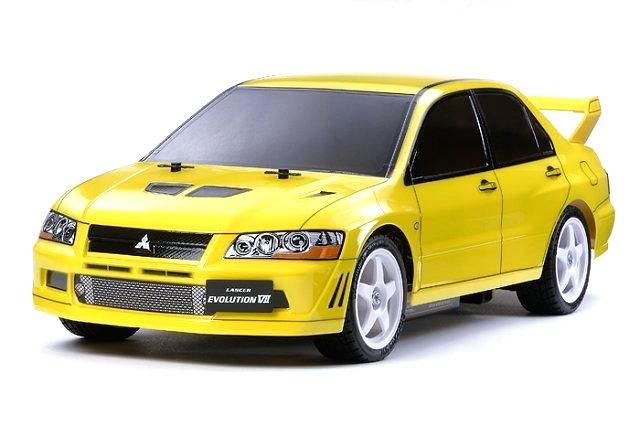 Tamiya Mitsubishi Lancer Evo VII - #58542 - 1:10 Electric Model Touring Car
